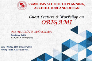 ORIGAMI Workshop 18th Oct 2019